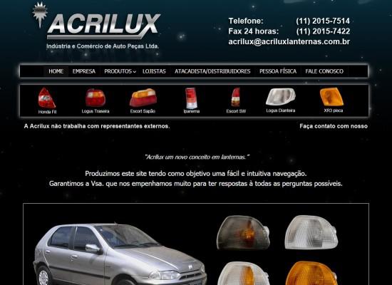 acrilux lanternas
